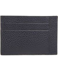 Saks Fifth Avenue - Leather Bi-color Card Case - Lyst