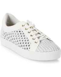 Joie - Duha Woven Leather Sneakers - Lyst