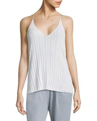 Skin | T-back Strap Cotton Camisole | Lyst