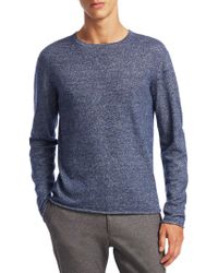 Saks Fifth Avenue - Modern Melange Merino Sweater - Lyst