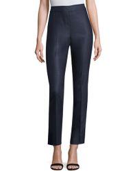 St. John - Stretch Wool Trousers - Lyst