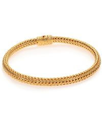 John Hardy - Classic Chain 18k Yellow Gold Extra-small Bracelet - Lyst