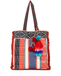 Figue - Baja Canvas Tote - Lyst