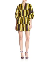 Stella Jean - Marzaiola Striped Short Jumpsuit - Lyst