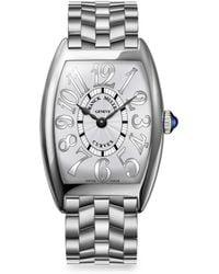 Franck Muller - Cintree Curvex 35mm Stainless Steel Bracelet Watch - Lyst
