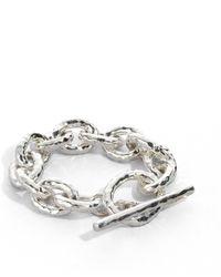 Ippolita - Glamazon Sterling Silver Bastille Link Bracelet - Lyst