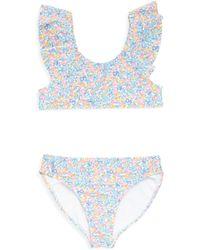 Ralph Lauren - Girl's Two-piece Floral Swimsuit - Lyst