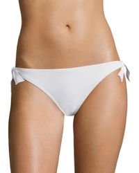 Kisuii - Bella Side Tie Bikini Bottom - Lyst