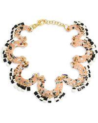Lele Sadoughi - Pinata Statement Necklace - Lyst