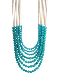 Rosantica - Mini Raissa Quartz Necklace - Lyst