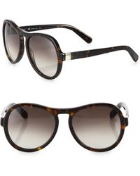 Chloé - Marlow 59mm Aviator Sunglasses - Lyst