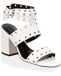 Rebecca Minkoff - Carter Leather Sandals - Lyst