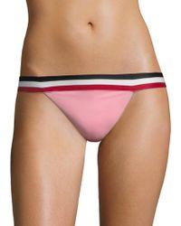 Same Swim - The Lola Low Rise Bikini Bottom - Lyst
