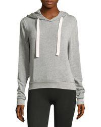 Heroine Sport - Women's Drawstring Hoodie - Grey - Size Medium - Lyst