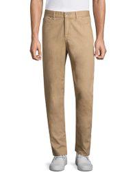 Eidos - Vintage Print Walnut Slim-fit Jeans - Lyst