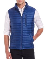 Saks Fifth Avenue - Thermoluxe Puffer Vest - Lyst