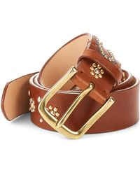Paul Smith - Embellished Leather Belt - Lyst