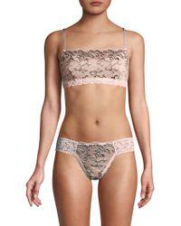 29ef457151021 Hanky Panky - Women s Regency Lace Bralette - Beige Slate - Size Xs - Lyst