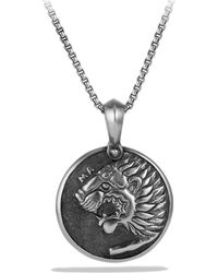 David Yurman - Petrvs Lion Amulet - Lyst
