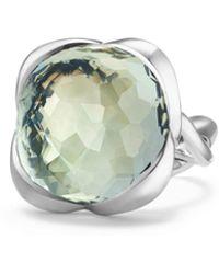 David Yurman - Continuance Ring With Gemstone - Lyst