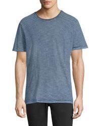 AG Jeans - Striped Crewneck Tee - Lyst