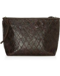 Elizabeth and James - Pouch Patchwork Leather Convertible Bag - Lyst