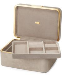 Aerin - Beauvais Suede Jewelry Box - Lyst
