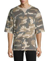 Wesc - Madison Camouflage Crewneck Sweatshirt - Lyst