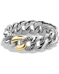 David Yurman - Belmont Curb Link Bracelet - Lyst