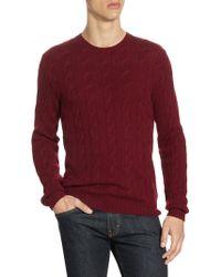 Ralph Lauren Purple Label - Cashmere Slim-fit Sweater - Lyst
