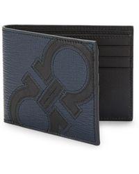 Ferragamo - Revival Maxy Leather Bi-fold Wallet - Lyst