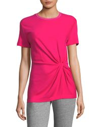 Rag & Bone - Marina Draped T-shirt - Lyst