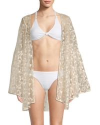 Pilyq - Coachella Lace Kimono - Lyst