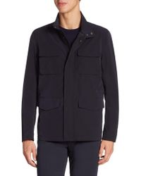 Armani - Fourway Long Sleeve Jacket - Lyst