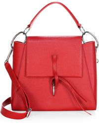 3.1 Phillip Lim - Leigh Leather Top Handle Satchel - Lyst