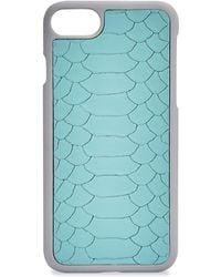 Gigi New York - Python Leather Iphone 7 Case - Lyst