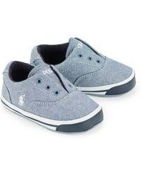 Ralph Lauren | Baby's Layette Vito Ii Chambray Slip-on Sneakers | Lyst