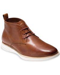Cole Haan - Grand Evolution Chukka Boots - Lyst