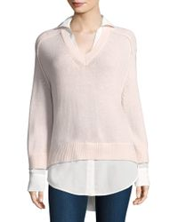 Brochu Walker - Knitted Layered Pullover - Lyst