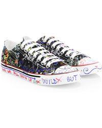 Vetements - Grafetti Low Top Sneakers - Lyst