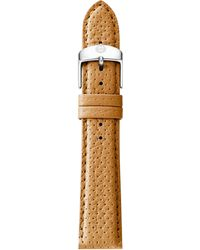 Michele Watches - Urban Perforated Leather Strap/16mm - Lyst
