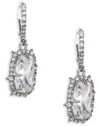 Alexis Bittar - Crystal Drop Earrings - Lyst