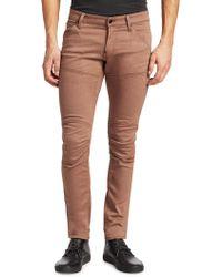 G-Star RAW - Skinny-fit Paneled Pants - Lyst