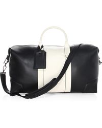 Uri Minkoff - Two-tone Leather Weekender Bag - Lyst