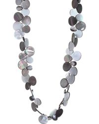 Nest - Mother Of Pearl Cluster Necklace - Lyst