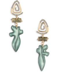 Alexis Bittar - Roxbury Muse Spiral Post Earrings - Lyst