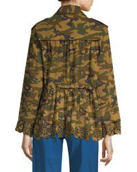 Sea - Carina Camouflage Jacket - Lyst