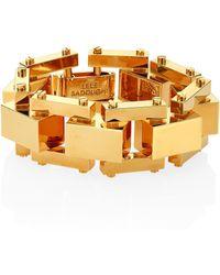 Lele Sadoughi | Golden Cove Bracelet | Lyst