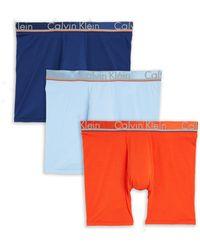 Calvin Klein - Three-pack Boxer Briefs - Lyst