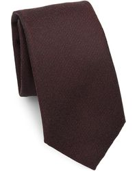 Saks Fifth Avenue | Collection Heathered Tie | Lyst
